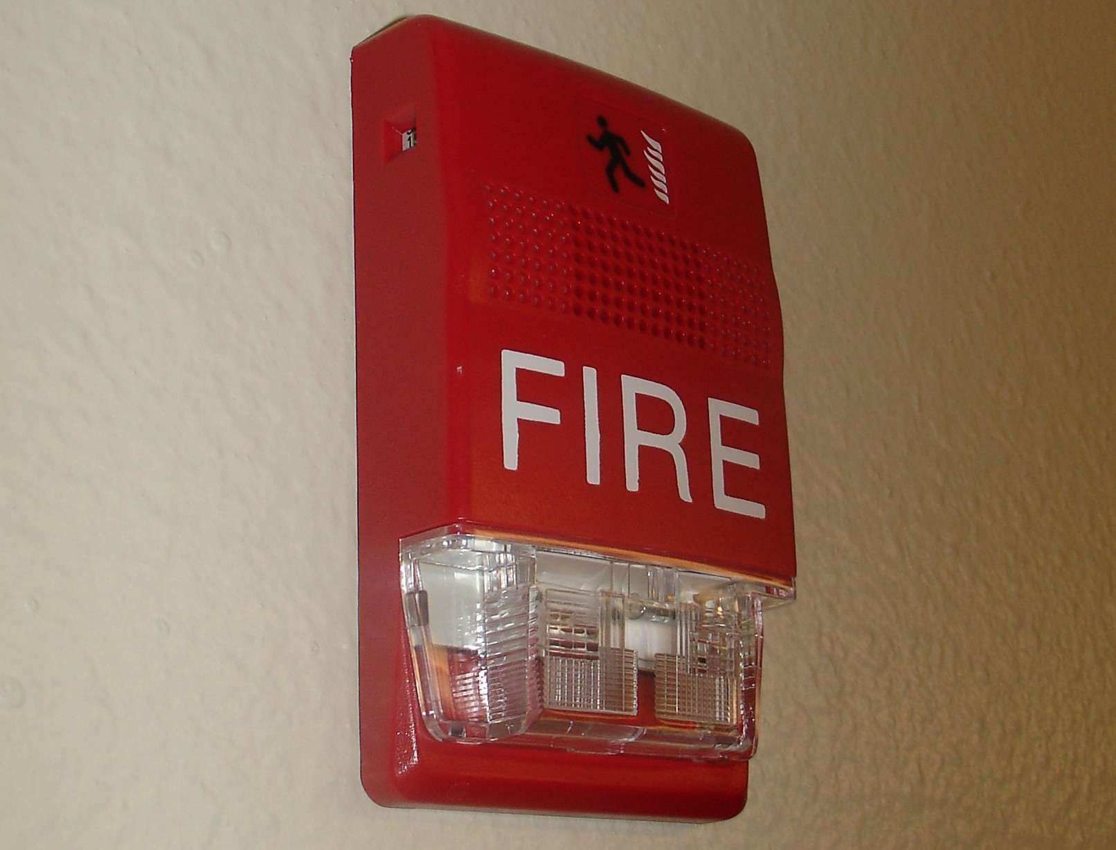 Fire protection alarm system